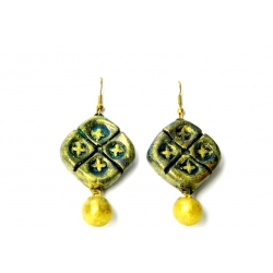 Buy trendy terracotta earrings at Idiort