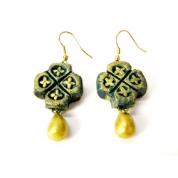 Buy handmade terracotta danglers earring at lowest prices