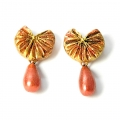 Buy Handmade Terracotta Stud Earrings Online at Idiort