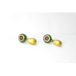 Buy Simple looking terracotta earrings studs