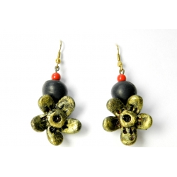 Shop Now For Exclusive Handmade Terracotta Droplet Earring