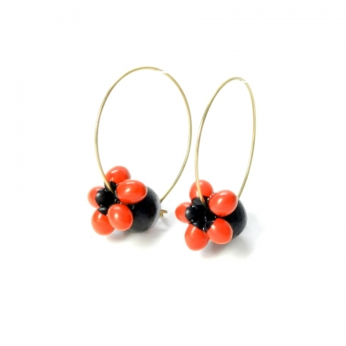 Explore various trendy terracotta earrings