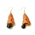 Buy Handmade terracotta jhumkas with modern look