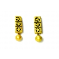 Handmade terracotta jewellery earrings studs online