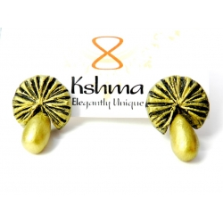 Shop Now For Handmade Terracotta Earrings Studs. Designer Terracotta Jewellery