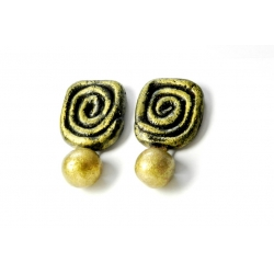 Handmade terracotta earrings studs. Indian Terracotta Jewellery Online