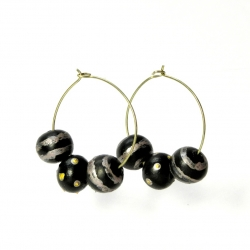 Indian Terracotta Earrings Hoops Collection. Online Jewellery!