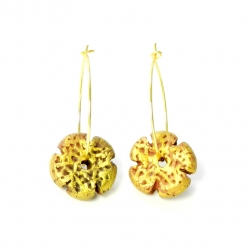 terracotta earrings-teracota earrings-terracotta earrings hoops