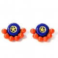 Shop Now for indian handmade terracotta earrings studs