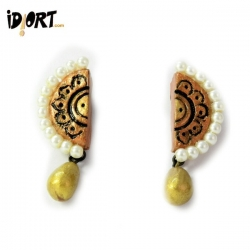 Handmade Terracotta Earrings Shop Now! Idiort