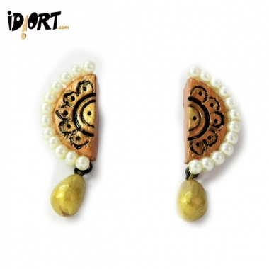 Designer handmade terracotta jewellery only on idiort