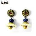 Terracotta Jhumka Earrings for Women and Girls