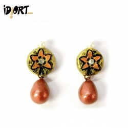 Buy Terracotta Jewellery Online - Handmade Earrings