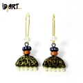 Idiort's Indian Designer Handmade Terracotta Earring Collection. Shop Now!
