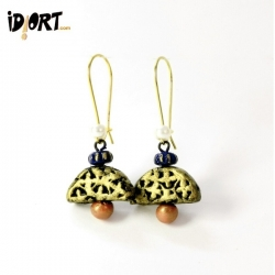 Buy Idiort's Handmade Terracotta Earrings, jhumka, dangler