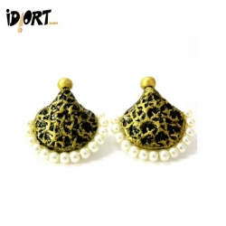Buy These Rich Truly Gorgeous Handmade Terracotta Earrings only on www.idiort.com