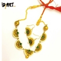 Handmade Terracotta Jewellery Necklace exclusively on Idiort.com
