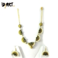 Buy Brand New Handmade Terracotta Jewellery Necklace & Earrings Set Exclusively On Idiort